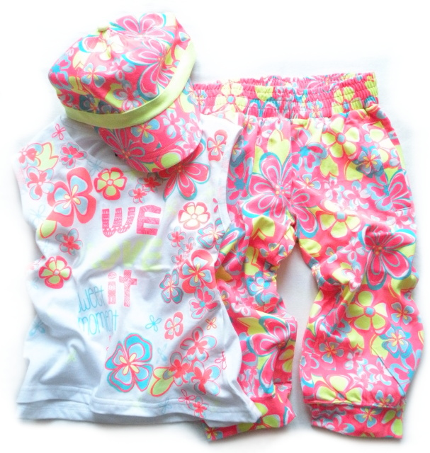 Dívčí komplet neonové barvy značky LOSAN afaa107295
