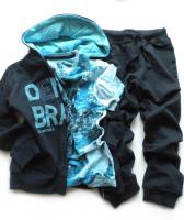 Chlapecká tepláková souprava a triko značky LOSAN