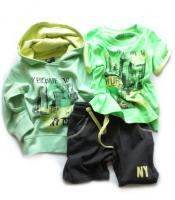 Chlapecký komplet mikina,triko,kraťasy značky LOSAN