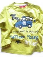 Limetkové triko opičky
