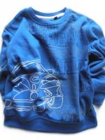 Modrá mikina s autem