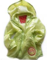 Dívčí limetková šusťáková bunda značky LOSAN
