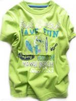 Chlapecké limetkové triko Surf značky LOSAN