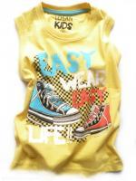 Chlapecké žluté tílko tenisky značky LOSAN