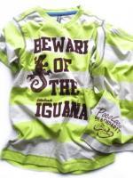 Chlapecké limetkové triko ještěrka značky TEIDEM
