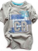 Chlapecké šedé triko CR93 značky TEIDEM