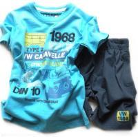 Chlapecké tyrkysové triko a kratasy značky LOSAN