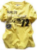 Chlapecké žluté triko letadlo značky LOSAN