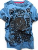Chlapecké modré triko s kolem značky TEIDEM