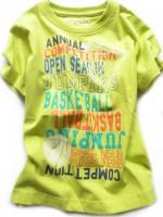 Chlapecké limetkové triko Basket značky LOSAN