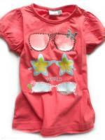 Dívčí korálové triko brýle značky BLUE SEVEN