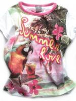 Dívčí triko papoušek značky TEIDEM