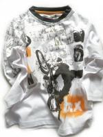 Chlapecké bílé triko BIKE značky LOSAN