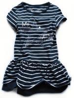 Dívčí temně modré šaty značky LOSAN
