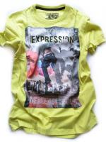 Chlapecké limetové triko značky LOSAN
