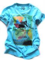 Chlapecké tyrkysové triko značky LOSAN