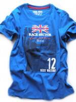 Chlapecké modré triko Race značky LOSAN