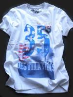 Chlapecké bílé triko Race značky LOSAN