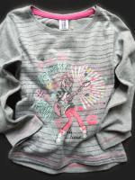 Dívčí šedé triko holka s kytarou značky TEIDEM