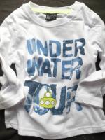 Chlapecké bílé triko ponorka značky LOSAN