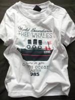 Chlapecké bílé triko s lodičkou značky LOSAN
