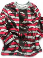 Chlapecké triko červené pruhy značky TEIDEM