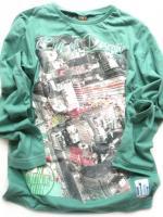 Chlapecké zelené triko s potiskem značky TEIDEM