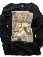 Chlapecké černé triko Sin City značky TEIDEM