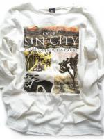Chlapecké smetanové triko Sin City značky TEIDEM