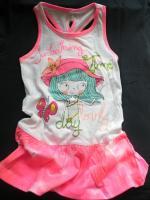 Dívčí šaty s holkou značky LOSAN
